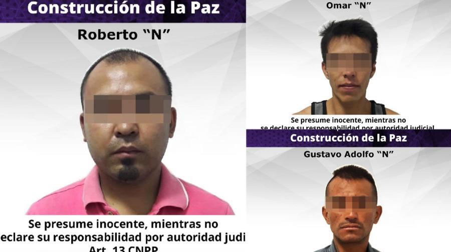 Detienen a tres presuntos implicados en el secuestro del exrector de la UAEM