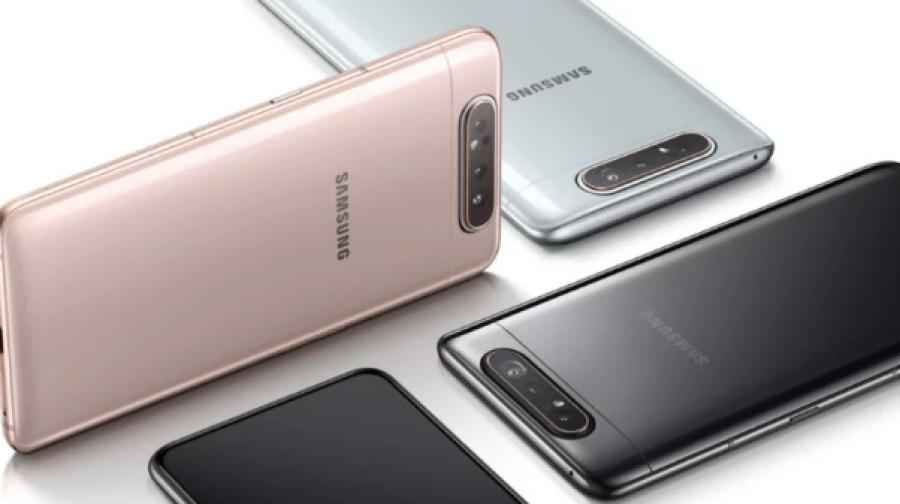 Galaxy A80 listo para llegar a México