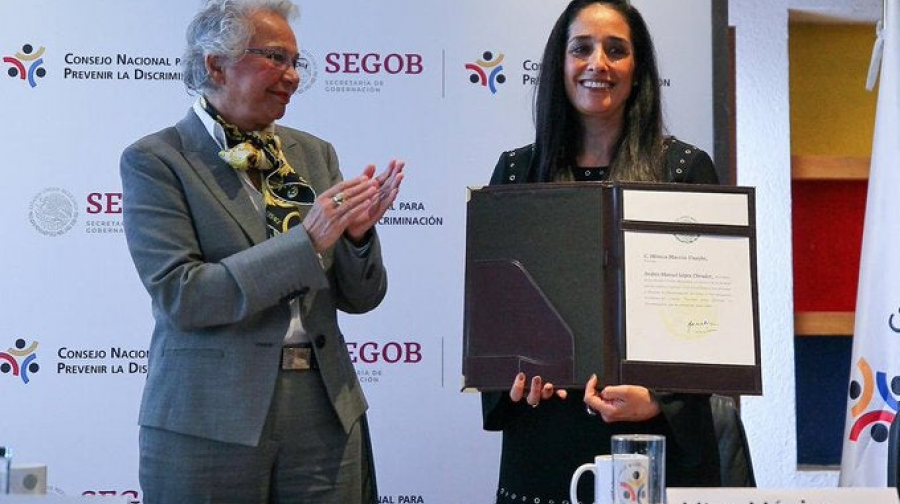 Mónica Maccise es la nueva presidenta del Conapred