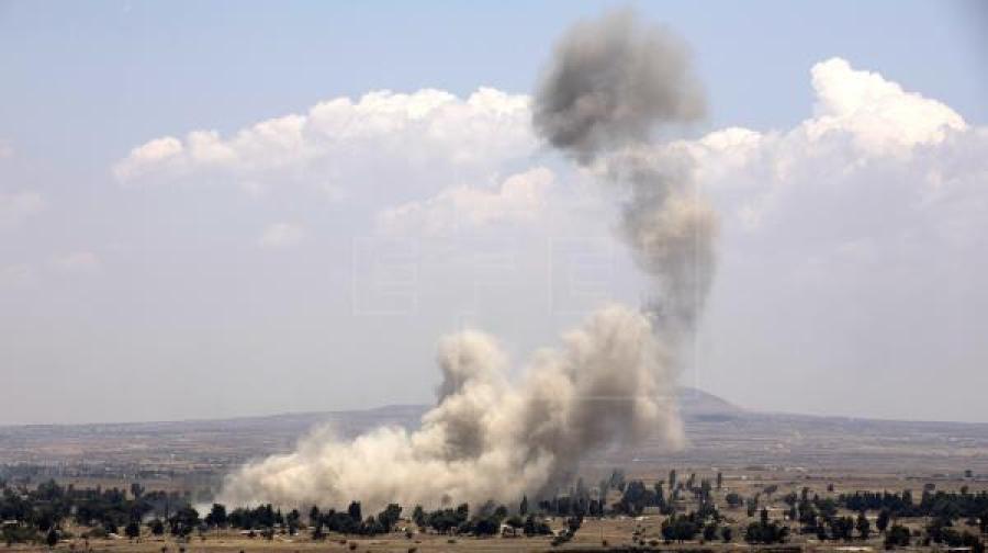 Ataque con misiles deja al menos 16 muertos en Siria
