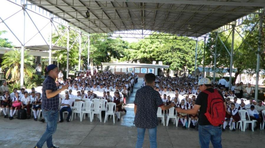 DIF Altamira refuerza acciones para la prevención de conductas antisociales