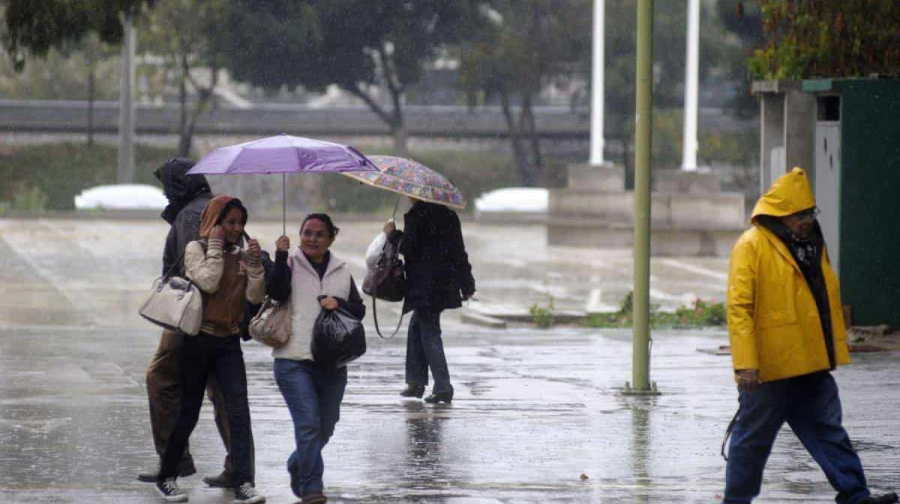 Pronostican lluvias de diferente intensidad en varios estados del país