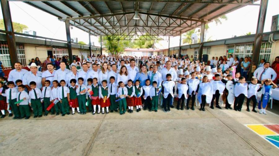 Inicia Alma Laura Hernández Segunda Semana Nacional de Salud Bucal