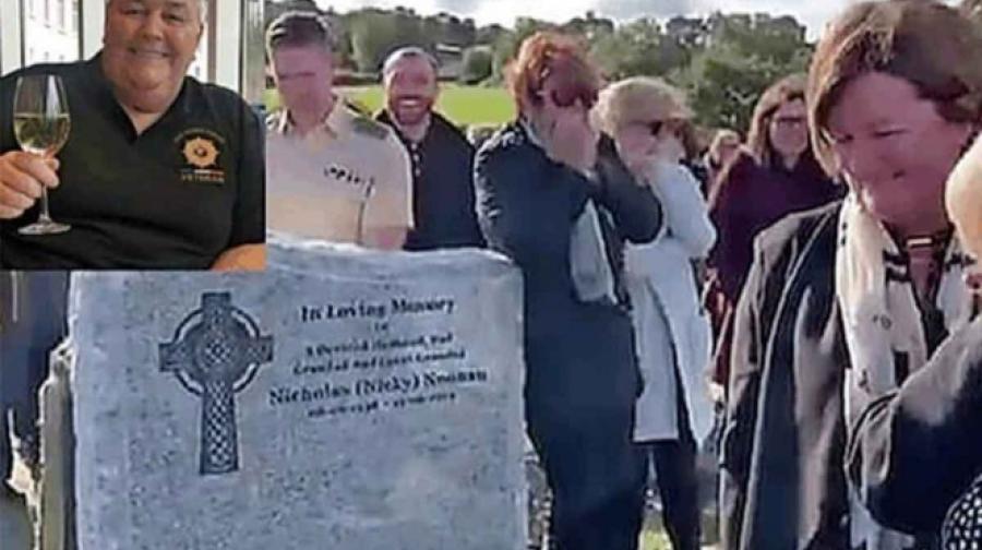 Un abuelito le juega una broma a su famiia ¡En su funeral!
