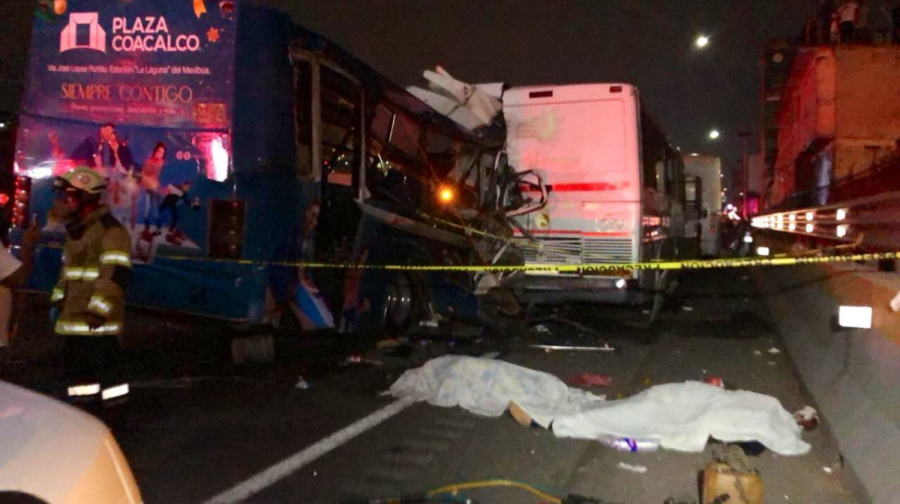 Detienen al segundo chofer implicado en el accidente de la México-Pachuca