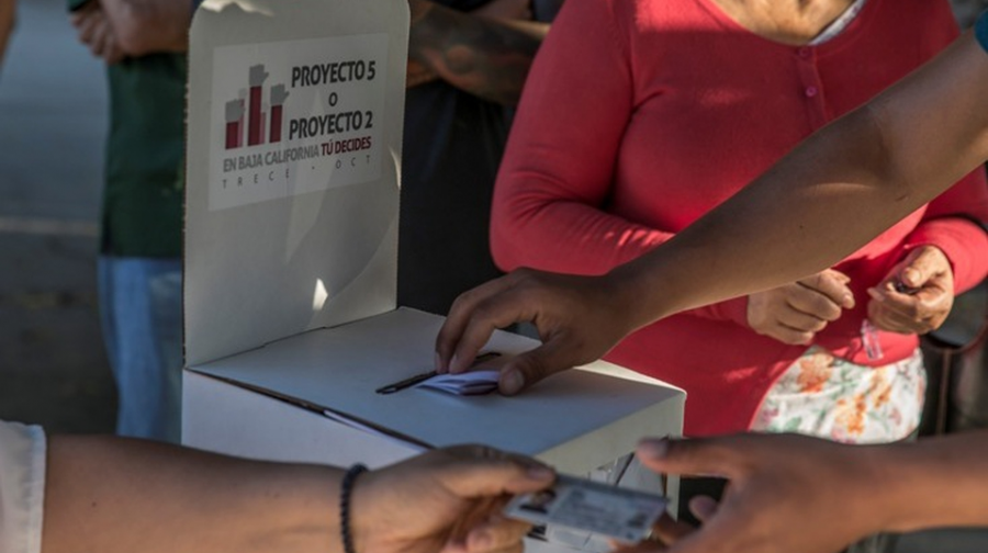 Menos del 2% del padrón participó en consulta ciudadana de BC
