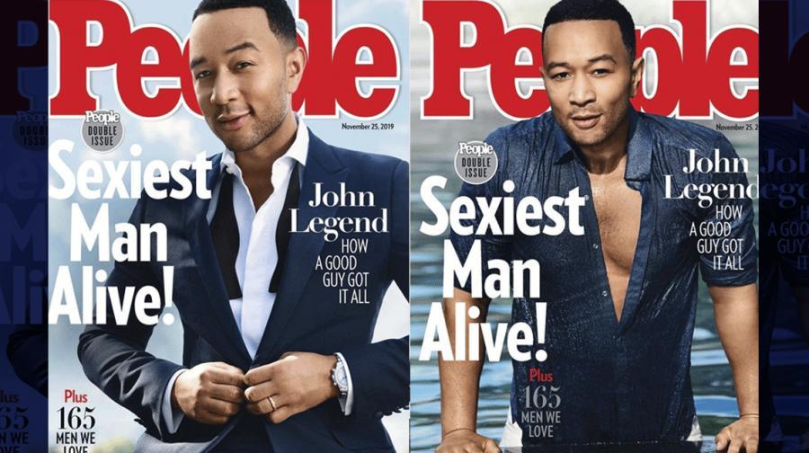 People nombró a John Legend el hombre más sexy del mundo
