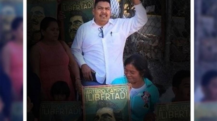 Encuentran presunto cadáver del activista Arnulfo Cerón