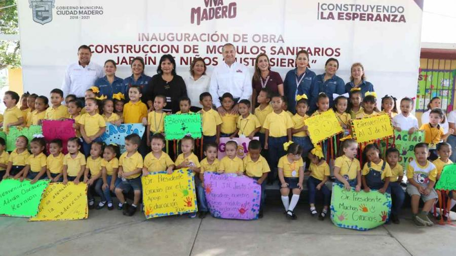 Más de 25 escuelas beneficiadas por el Gobierno de Madero