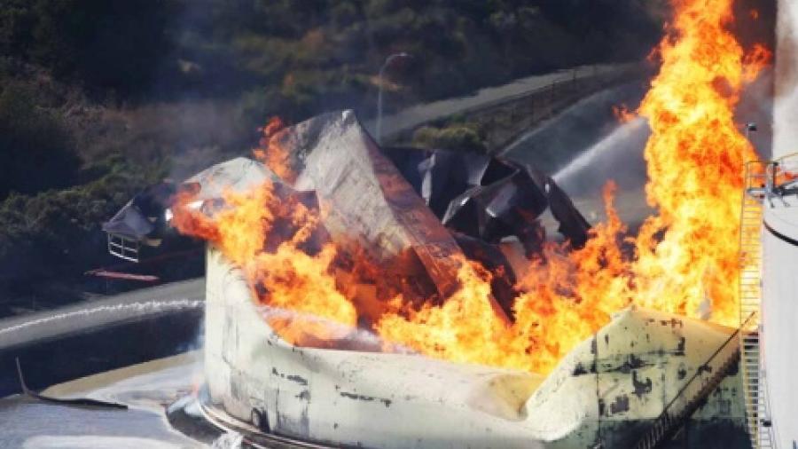 Se incendia refinería NuStar Energy de California