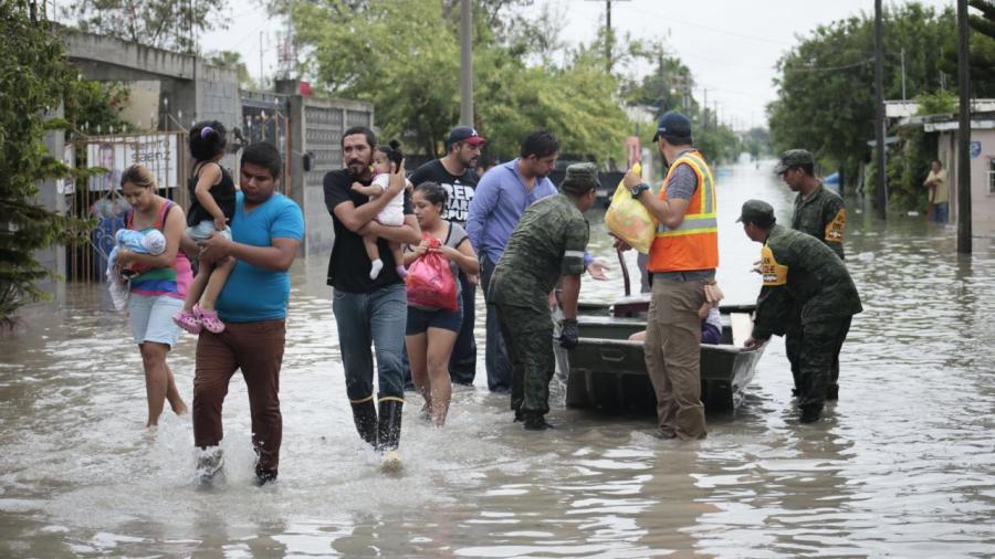 Llegan recursos del FONDEN a Reynosa y Matamoros