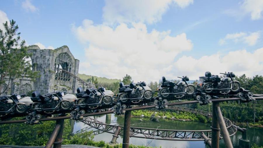 El parque de Harry Potter estrena su montaña rusa