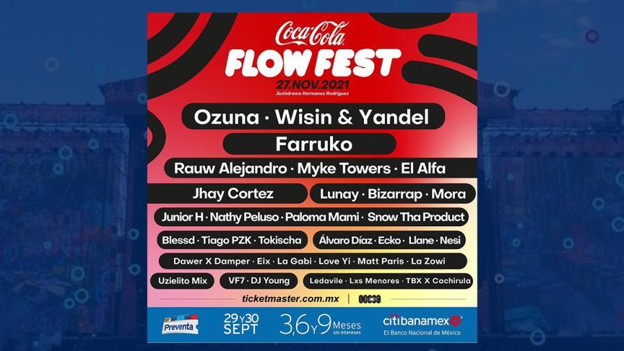 Confirman que sí habrá Flow Fest este 2021