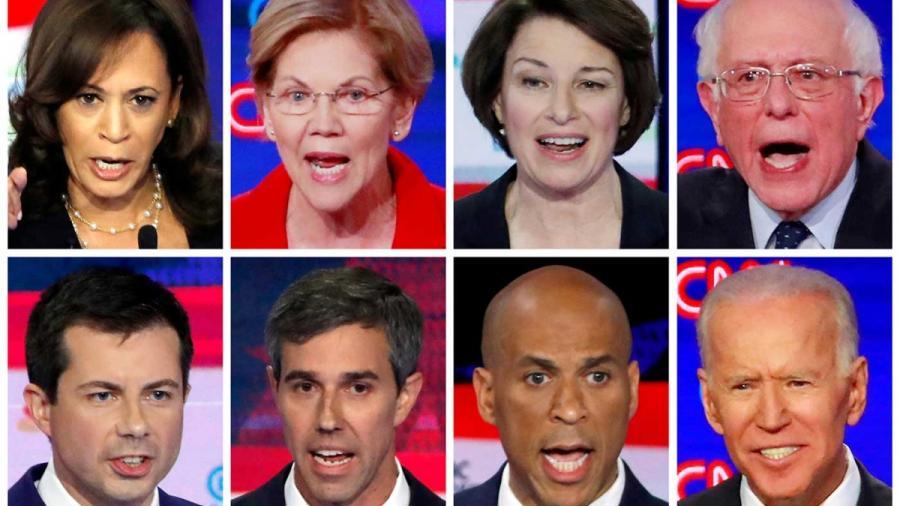 A la mira en el debate demócrata