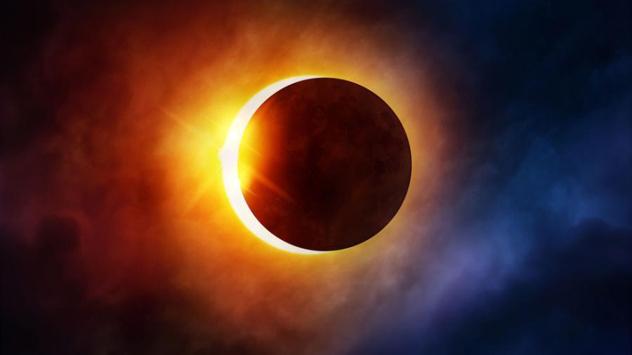 Esta madrugada último eclipse solar del año