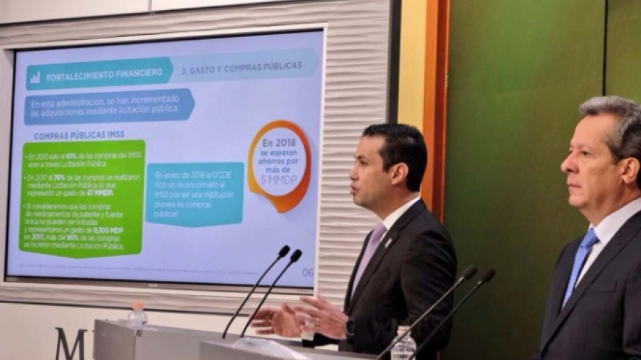 Garantizada viabilidad financiera del IMSS hasta 2030: Eduardo Sánchez