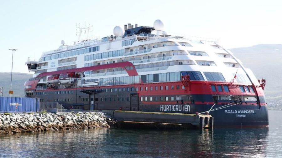 Estalla brote de Covid-19 en crucero de Noruega