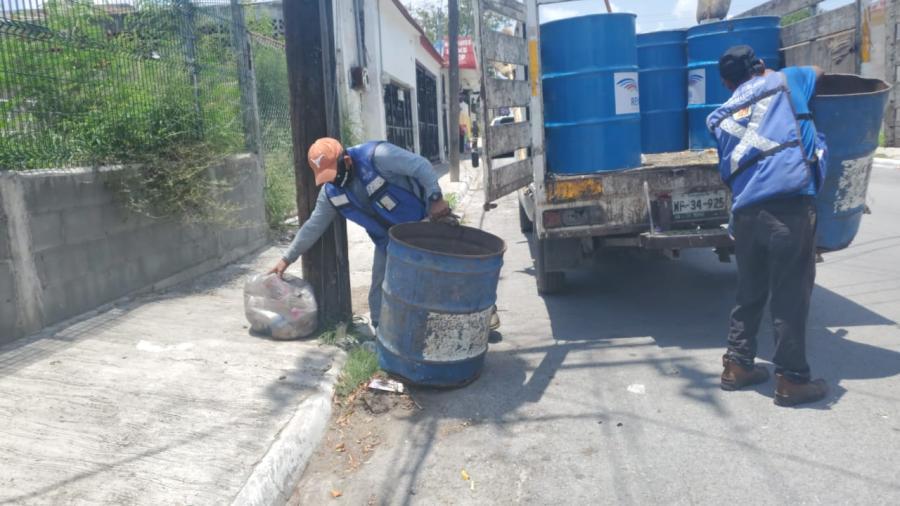 Mejora limpieza y recolección en Reynosa