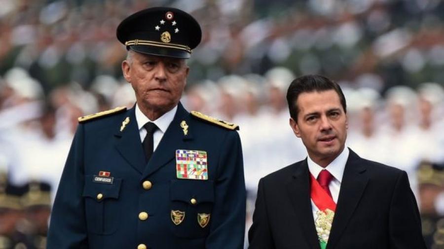 Gobierno de Estados Unidos decomisará propiedades de Salvador Cienfuegos
