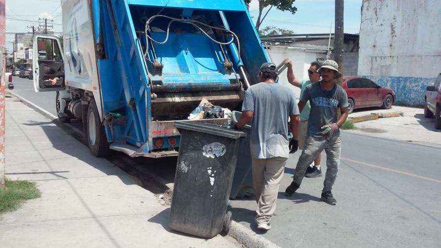 Camiones de recolección atienden Sector Oriente el lunes 15