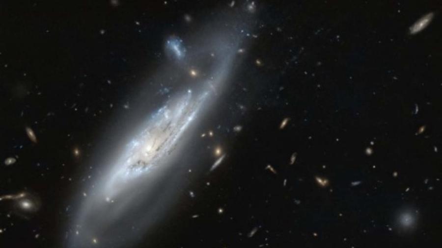 Hubble registra galaxia fantasmal