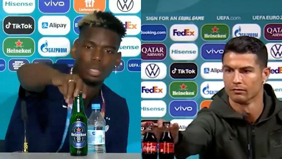 Pide UEFA a jugadores que no quiten productos de patrocinadores en conferencias