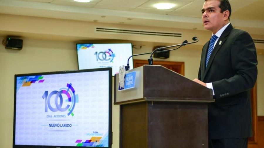 Enrique Rivas rinde informe tras 100 días de trabajo