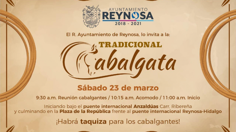 Más de 200 jinetes participarán en Cabalgata del 270 Aniversario
