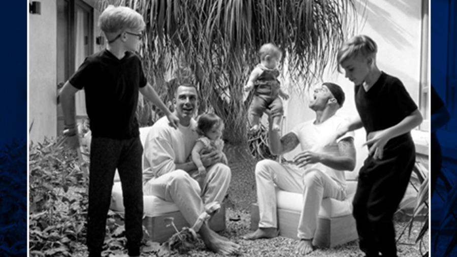 Así luce la familia completa de Ricky Martin
