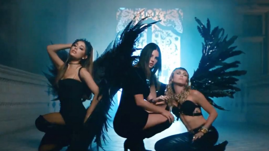 Lana del Rey, Miley Cyrus y Ariana Grande juntas en nuevo video