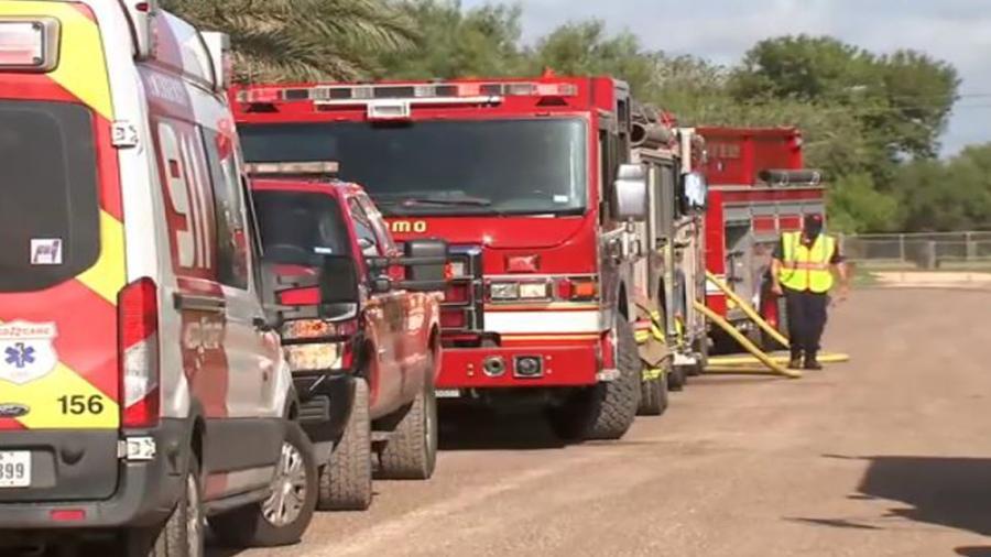 Se registra incendio en casas móviles de Alamo, TX