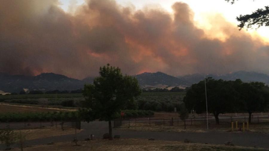 Incendio forestal consume 18 mil hectáreas en California