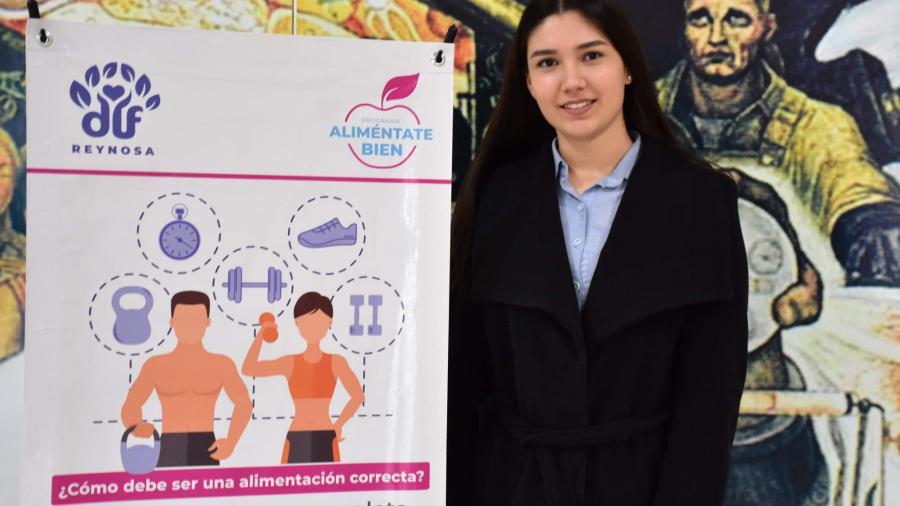 Sistema DIF Reynosa invita a cuidar hábitos alimenticios