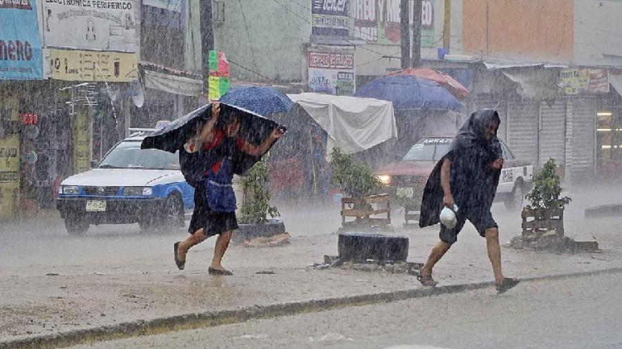 Se pronostican lluvias puntuales intensas en Veracruz, Oaxaca y Chiapas
