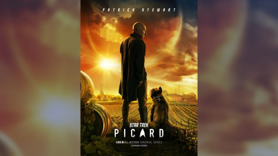 """Revelan primer póster de """"Star Trek: Picard"""""""