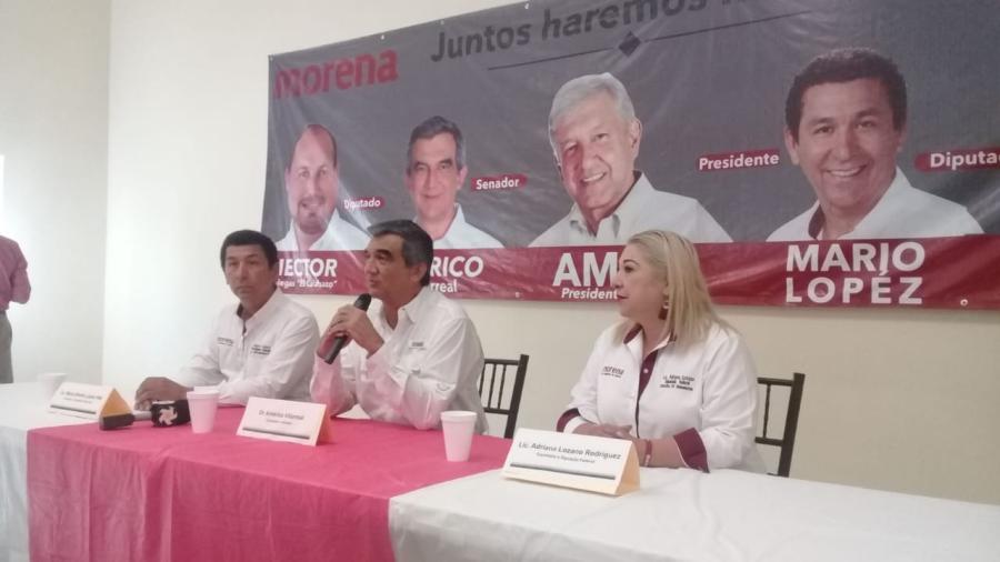 Con el 98.61% de las actas computadas perfilan a Américo Villareal como ganador