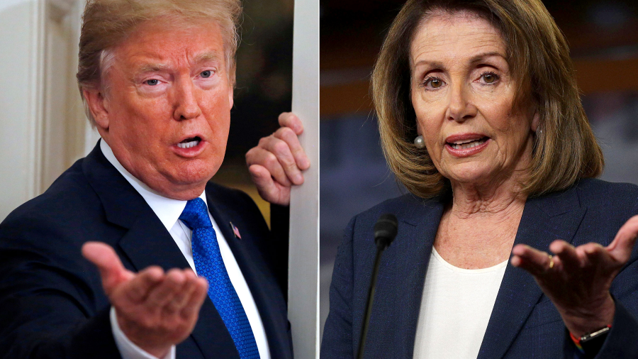 Trump cancela en el último minuto, viaje de Pelosi al extranjero