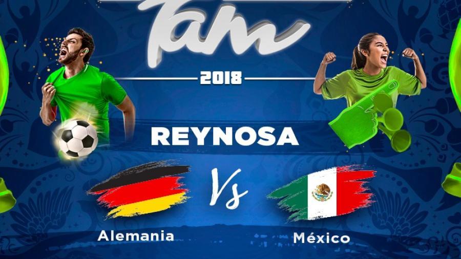 Llega el mundial en el Fan Park Tamaulipas