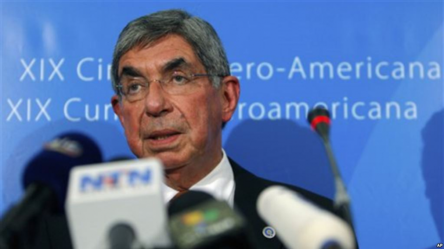 Ex miss Costa Rica denuncia por agresión sexual a Óscar Arias