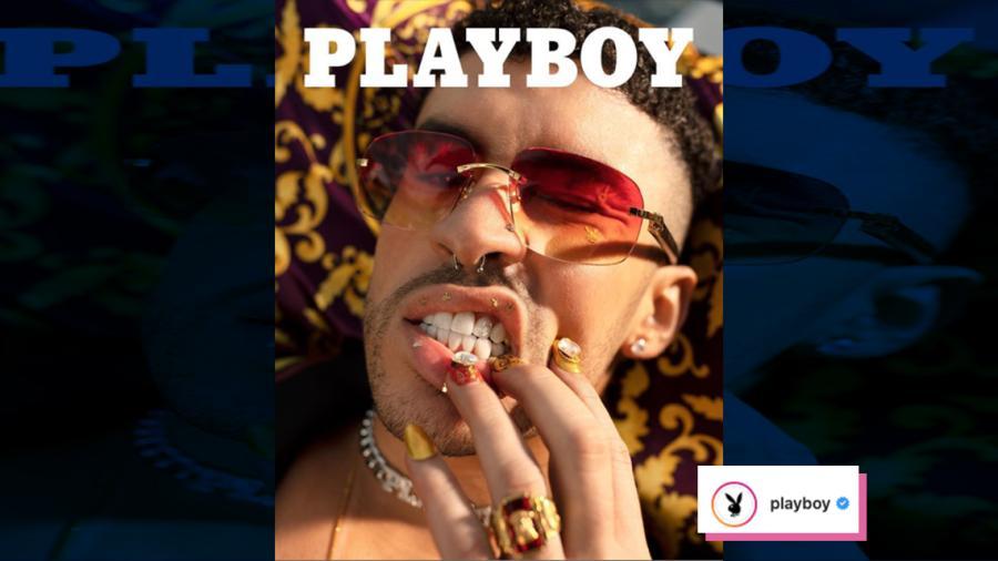 Bad Bunny posa para Playboy