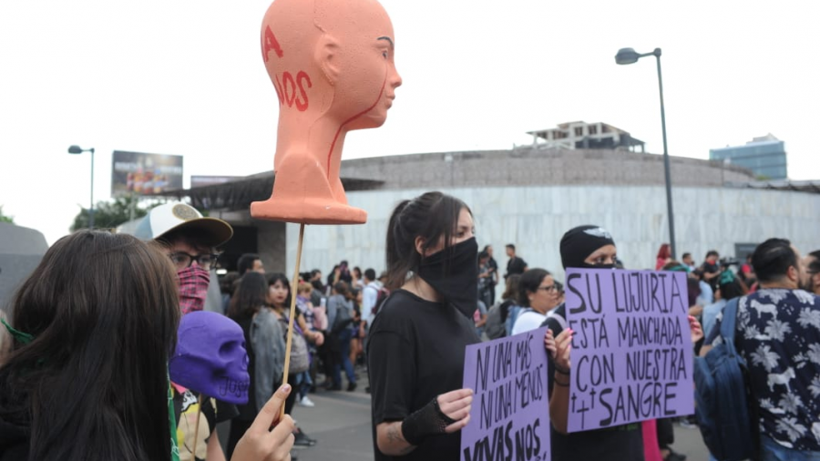Adecuada, actuación de gobierno capitalino en manifestación feminista: Derechos Humanos