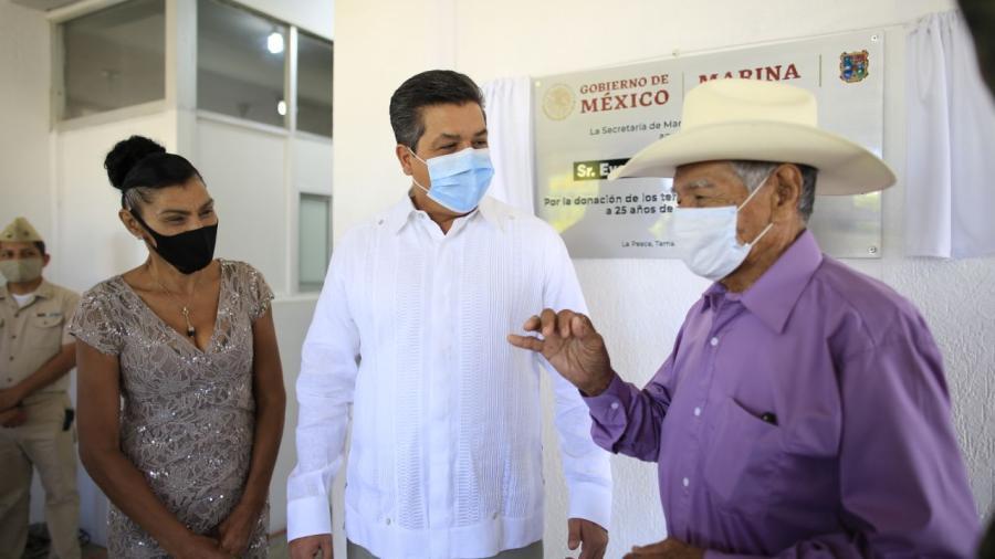 Reconoce Gobernador contribución de la SEMAR en tareas de seguridad en Tamaulipas