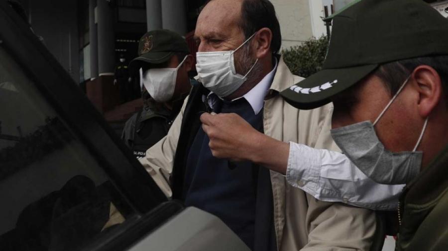 Exministro de Salud en Bolivia a prisión preventivapor corrupción