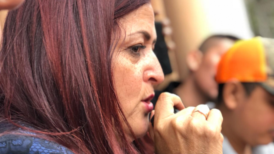 Se reúne Susana Prieto con obreros de Matamoros