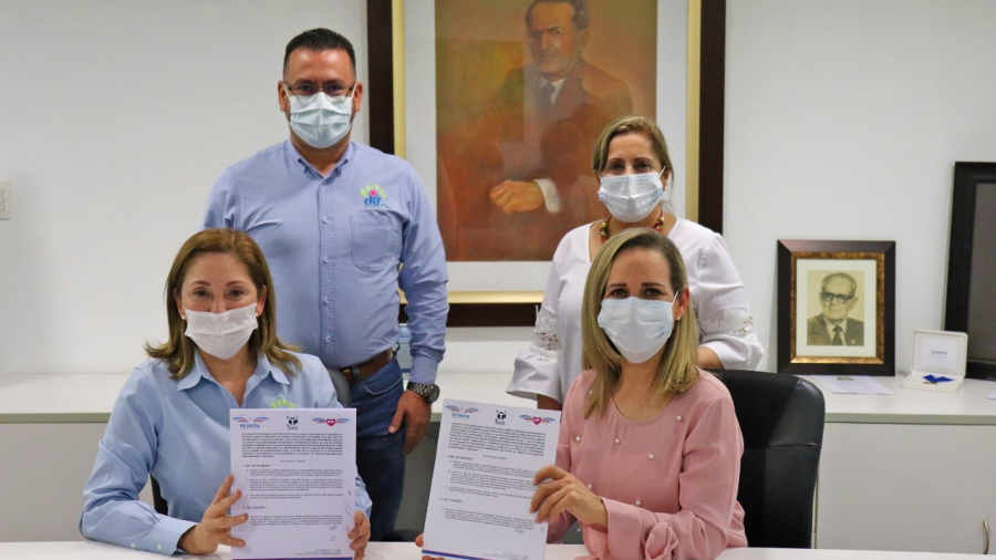 Formaliza DIF Reynosa convenio con colegio Tamaulipas