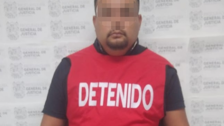 """Secuestrador alías """"El Jumex"""" es detenido por la PGJ"""