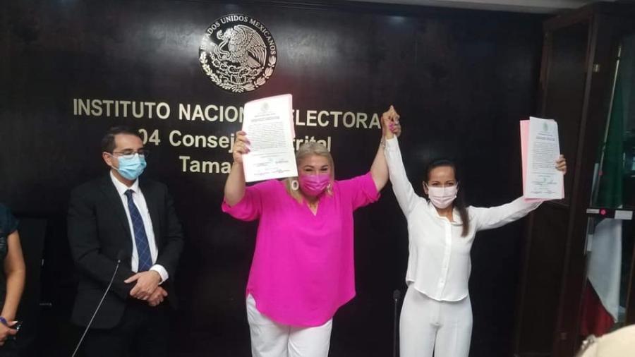 Recibe Adriana Lozano constancia de mayoría en el cuarto distrito electoral