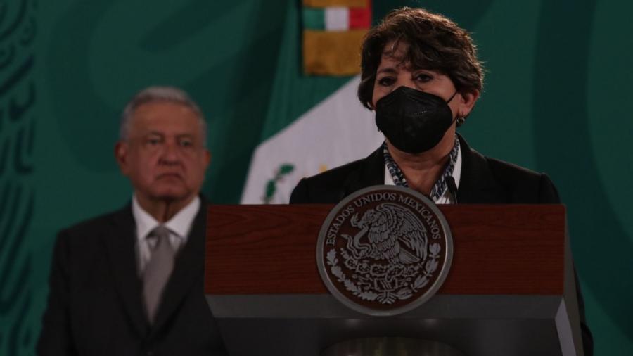 Delfina es una mujer honesta y la ven como candidata: AMLO sobre multa del INE