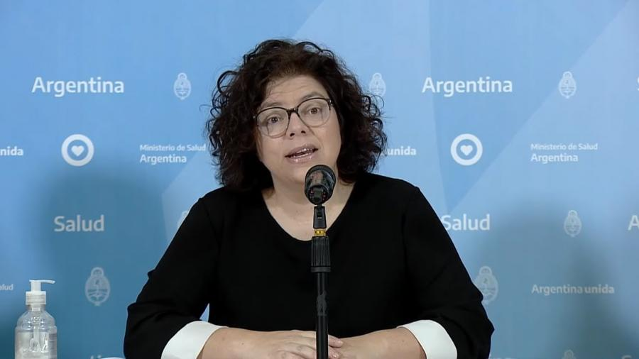 En Argentina, Ministra de Salud da positivo a Covid-19