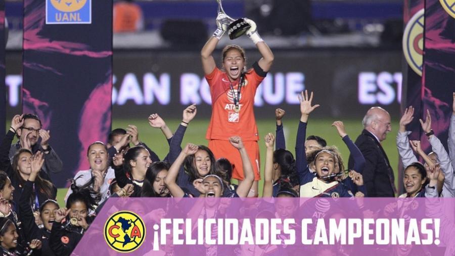América Campeón de la Liga MX Femenil
